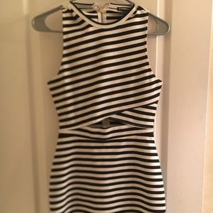 Express striped dress! Brand new